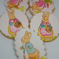 Petter Rabbit Cookies