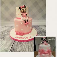 Minnie Mouse - Cake This Again Collaboration