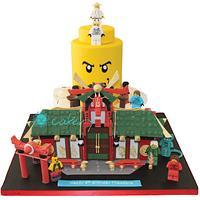 Lego Ninjago City Cake