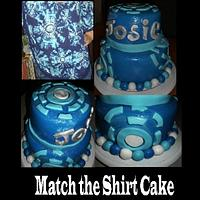 Match The Shirt Cake