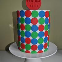 My first sharp edge cake