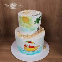 Summer cake by Cakes by Evička