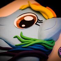 Rainbow Dash by Sweet Rhapsody Cake Art Studio