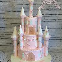 Princess 1st birthday castle
