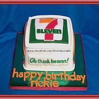 7 Eleven Cake