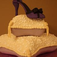 50th Birthday Pillow Cake