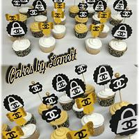 Chanel Cake & Cupcakes by lanett