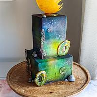 Gallaxy Cake