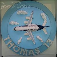 Airbus A380 Birthday cake
