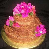 Rum Cake Wedding Cake