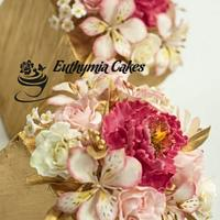 Sugar flowers for Cake Masters Magazine Awards