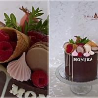 Drip cake for Monika
