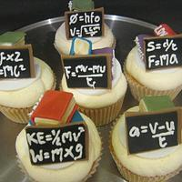 Cupcakes for my teacher by Essentially Cakes