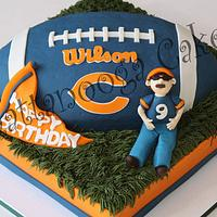 Chicago Bear Cake