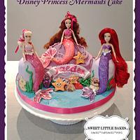 Disney Mini Princess Doll cake