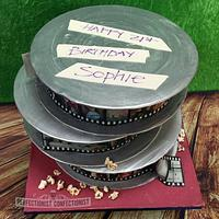 Sophie - Film Reel Birthday Cake
