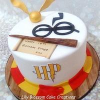 Harry Potter 18th Birthday Cake