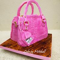 The pink bag cake