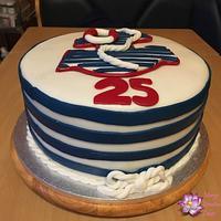 Marine themed cake