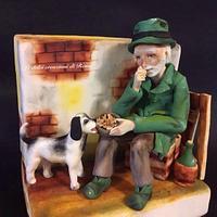 Cake against abandonment