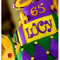 Mardi Gras 65th Birthday by Lainie