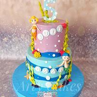 Bubble gubbies cake