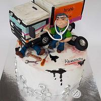 Truck Cake-automechanic