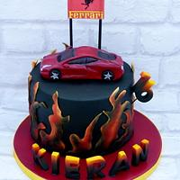 Ferrari Italia ... a flaming hot cake!