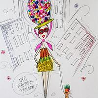 5th Avenue Easter Parade. by ManBakesCake