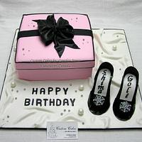 Pink box by Cynthia Jones