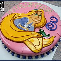 "THE RAPUNZEL ""TANGLED"" CAKE"