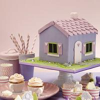 Doll house cake party - my cake decorating book in the works by Hana Rawlings