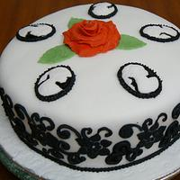 Cameo & Roses 2012 by Anita's Cakes