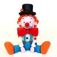 """Clown Fiocco"" cake design kids classes"