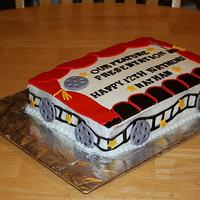Movie Theater Cake by Michelle