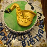 Musical cake Enchanted Cakes