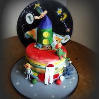 Aliens & Autism Rocket - Sugar Art 4 Autism Collaboration