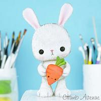 Cute Bunny Cake Topper