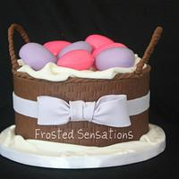 Easter Basket cake by Virginia