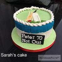 Cricket 70th cake