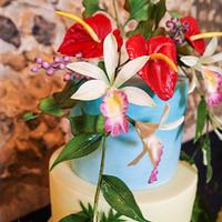 Trio of Tropical Cakes by Alpa Boll - Simply Alpa
