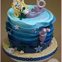 Cake Little Mermaid Kawaii