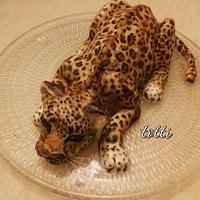 Leopard cake by totti