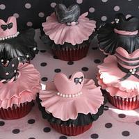 ballerina cupcakes!