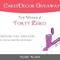 CakesDecor Giveaway 2019 #6: Drageekiss Tool Giveaway Winner