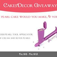 CakesDecor Giveaway 2019 #5: Drageekiss Tool Giveaway
