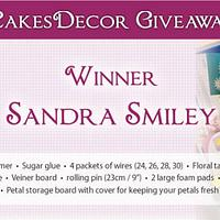 CakesDecor Giveaway 2019 #8: Flower Making Tools Winner!!