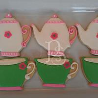 Teacup and Teapot Cookies