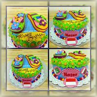 Flip Flop Cake  by Yusy Sriwindawati