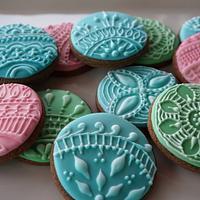 Henna inspired cookies